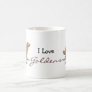 Golden Retreiver - Red Coffee Mug