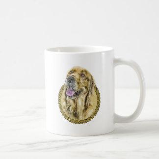 Golden Retriever 001 Basic White Mug