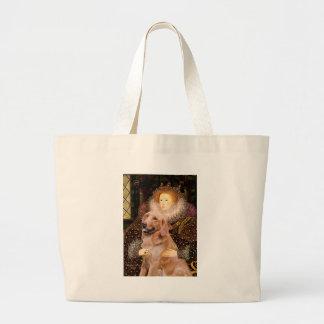 Golden Retriever #1 - Queen Elizabeth I Jumbo Tote Bag