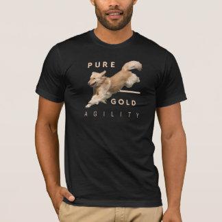 Golden Retriever Agility T-shirt 'PureGold'