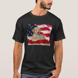 Golden Retriever All AmericanT-Shirt T-Shirt