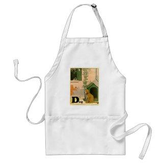 Golden Retriever and Jack Russell Terrier Standard Apron