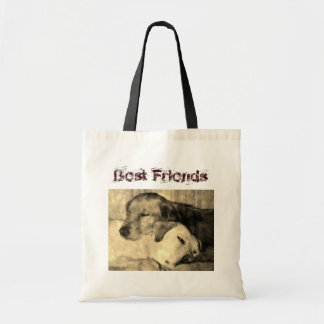 Golden Retriever and Yellow Lab BFF Bag