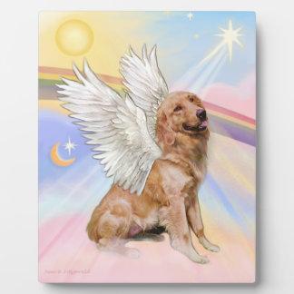 Golden Retriever Angel (B1) Plaque