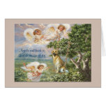 Golden Retriever Angel Greeting Card
