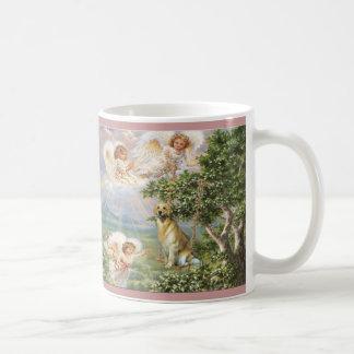 Golden Retriever Angel Mug