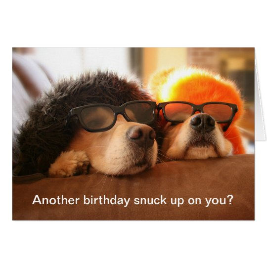 Golden Retriever Another Birthday Greeting Card