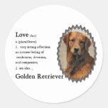 Golden Retriever Art Gifts Sticker