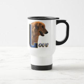 Golden Retriever Art Gifts Travel Mug