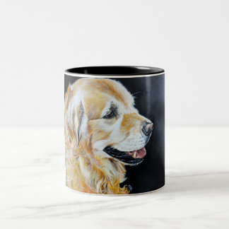 Golden Retriever Art Mug