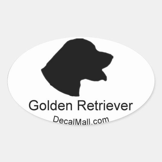 Golden Retriever Auto Window Decal Sticker