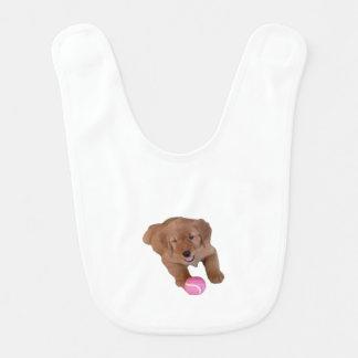 Golden Retriever Baby Bib