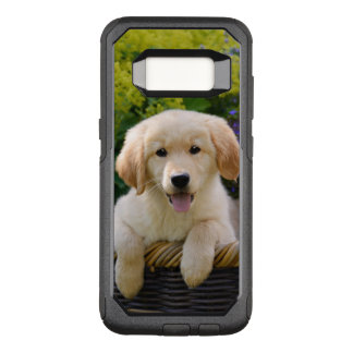 Golden Retriever Baby Dog Puppy Funny Pet Photo OtterBox Commuter Samsung Galaxy S8 Case