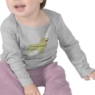 Golden Retriever Baby Long Sleeve Good As Gold Shirt