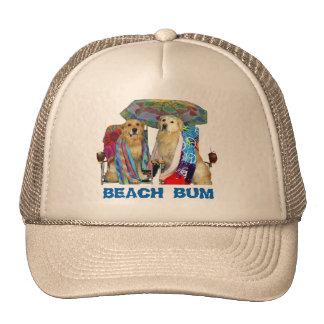 Golden Retriever Beach Bum Cap
