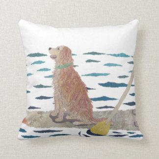 Golden Retriever, Beach Dog, Paddle Board Cushion