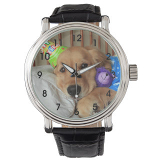 Golden Retriever Birthday Watch
