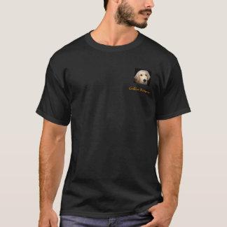 Golden Retriever Black T T-Shirt