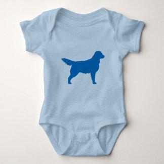 Golden Retriever (blue) Baby Bodysuit