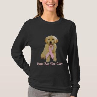Golden Retriever Breast Cancer Shirt