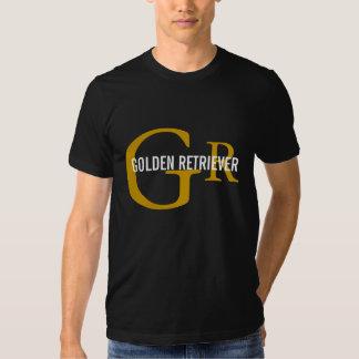 Golden Retriever Breed/Dog Lovers Initials Shirt