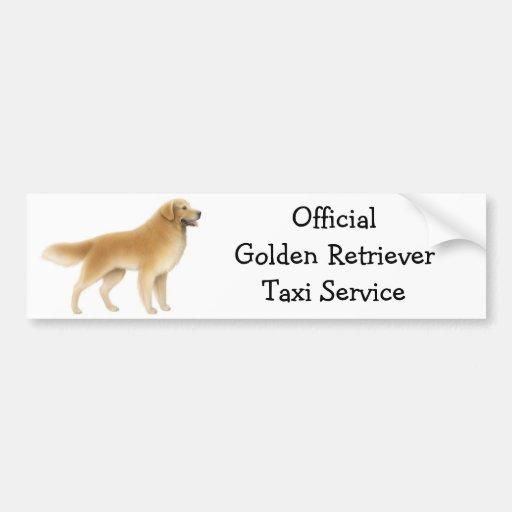 Golden Retriever Bumper Sticker