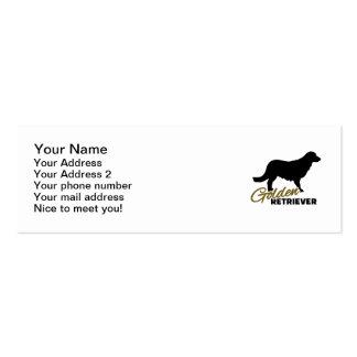Golden Retriever Business Card Template