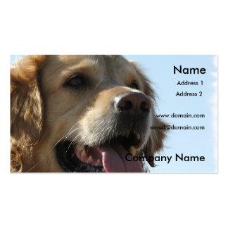Golden Retriever Business Card