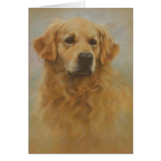 Golden Retriever Card