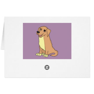 Golden retriever cards and paper products