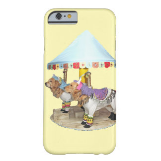 Golden Retriever Carousel Barely There iPhone 6 Case