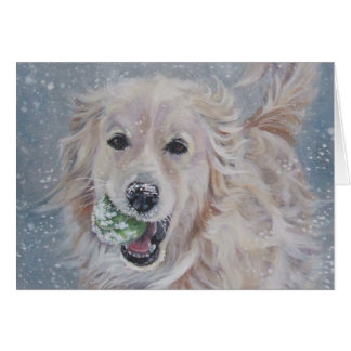 Golden Retriever Christmas Greeting Cards | Zazzle.co.uk