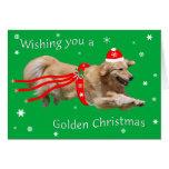 Golden Retriever Christmas Card 2013