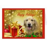Golden Retriever  Christmas Card Gifts