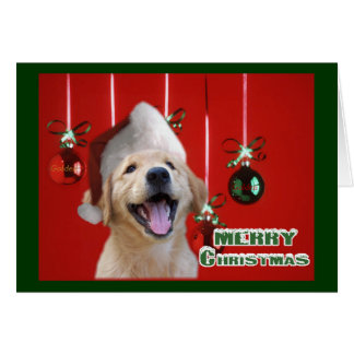 Golden Retriever Christmas Cards Gifts