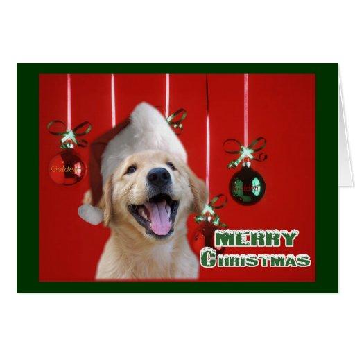 Golden Retriever Christmas Cards Gifts
