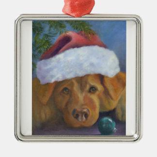 Golden Retriever Christmas mischief Christmas Ornament