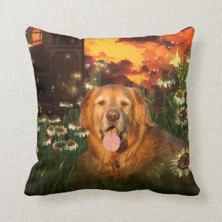 Golden Retriever Cushion