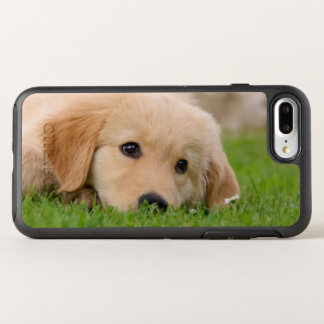 Golden Retriever Cute Puppy Dream Photo Protection OtterBox Symmetry iPhone 8 Plus/7 Plus Case