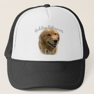 Golden Retriever Dad 2 Trucker Hat
