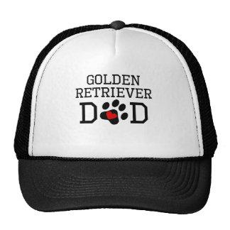 Golden Retriever Dad Mesh Hats