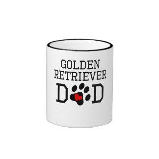 Golden Retriever Dad Mugs