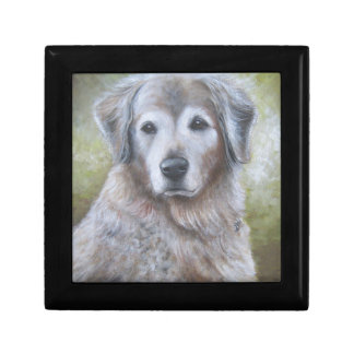 Golden Retriever Design Gift Box