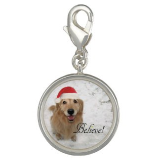 Golden Retriever Dog Believe Christmas