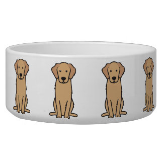 Golden Retriever Dog Cartoon