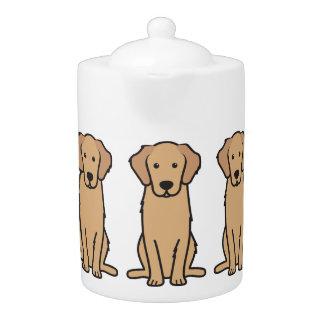 Golden Retriever Dog Cartoon