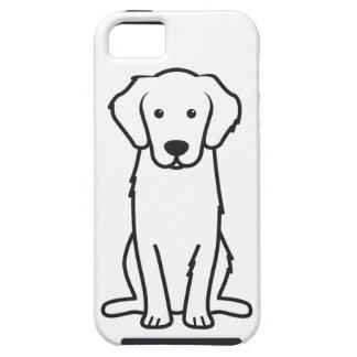 Golden Retriever Dog Cartoon iPhone 5 Case