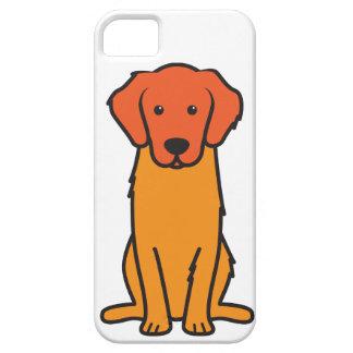 Golden Retriever Dog Cartoon iPhone 5 Covers