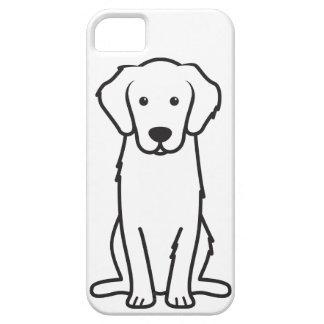 Golden Retriever Dog Cartoon iPhone 5 Cases