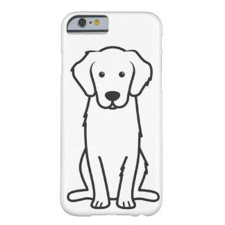 Golden Retriever Dog Cartoon iPhone 6 Case